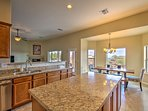 You'll love the bright, open floor plan home with a spacious kitchen.