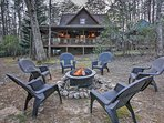 Roast marshmallows around the fire pit during your stay in Sautee Nacoochee!