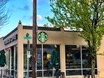 The neighborhood Starbucks is just 4 doors down.