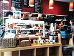 Great artisan coffee shops in the neighborhood.