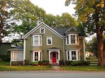Shorewood House located in  Shelburne, Nova Scotia. Sleeps 6.