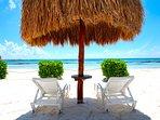 Riviera Maya Haciendas, Casa Arena -  The White Sandy Fatima Bay Beach - Great Snorkeling