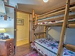 The kiddos will love a space all their own in the third bedroom!