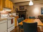 Knotty Pine-Kitchen/ Dining