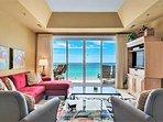 Empress 703 Gulf View Condo - Living Area