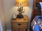 Antler/Deer Theme Guest Bedroom