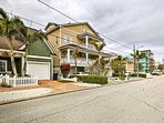Sitting just 1 block from a trolley stop, this home is near everything!