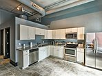 Preparing feasts will be a breeze in this fully equipped kitchen.