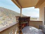 Balcony Fireplace