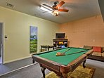 Head into the game room for endless fun!