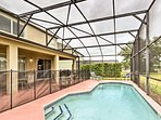The heated pool is safe for everyone in your group.