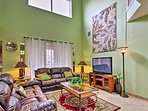 This spacious home has 8 TVs for your entertainment needs!