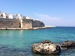 The nearest beach to the apartment, Porta Vecchia, is just 3 minutes' walk away