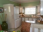 Fully fitted kitchen, including dishwasher.