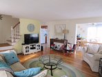 Open Living - WiFi and Central air-17 Woodbine Road Harwich Port Cape Cod New England Vacation Rentals