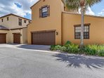 A spacious 2 car garage with remote entry is located in the back of the home and availabile for guests during their...