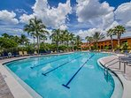Adjacent to the resort pool is the fitness pool where you can swim laps, join a water aerobics class, or find a quiet...