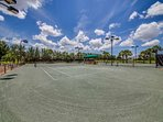 Enjoy recreational or competitive tennis, both day and night at Paseo's tennis center featuring 6 Har Tru courts.