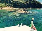 Golfo di baratti - calette limitrofe visitabili con barche