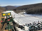 Lots of nearby activities especially the winter.  Snow tubing