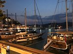 Why not have a bite to eat while overlooking the stunning views over Fethiye harbour.