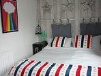 Kingsize bed second bedroom