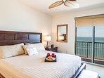 Master Bedroom w/Balcony Access