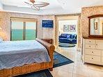 2nd Master Bedroom w/oceanfront Sitting Room