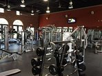 It's easy to maintain your fitness routine, or start a new one, at the state-of the art fitness center in the Village...