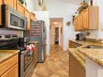 Kitchen with Updated Appliances, Granite