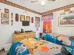 Lion King Twin Bedroom with TV, DVD, PS3