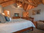 Loft Bedroom featuring King Mattress.