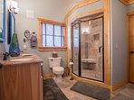 Loft Bedroom Bathroom - Oversized Shower