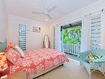 Queen Bedroom with own Balcony