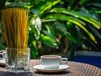 Enjoy a coffee