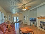 The 3BR, 2-bath vacation rental house is the perfect base for a lake getaway.