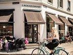 Lovely Danish bakery on our corner street