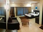 Premium Room with Luxurious Mountain View & Personal balcony.