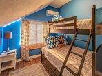 2nd Floor Guest Bedroom - Twin over Double