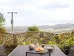 Relax and enjoy the stunning views of the Cotswold countryside