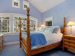 Bedroom 3, queen bed, en suite bath, located on upper level near 2nd laundry