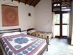 Prithvi, hut 2. Bedroom