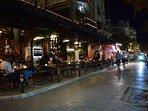 Gazi / Kerameikos area at night