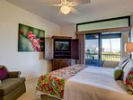 Lovely Master bedroom with access to Lanai from the bedroom.