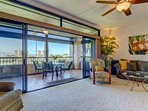 Over 1,500 sf of living space plus an oversized sized lanai - fantastic indoor / outdoor living.
