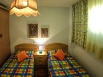 2ª habitacion de 2 camas de 90cm