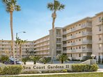 Sea Coast Gardens II is on the North Side of the Community.  Both are ocean front.