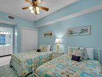 Majestic Sun 701B - Bedroom w/ Two Double Beds