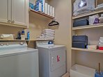 In-unit laundry machines offer the utmost comfort and convenience.