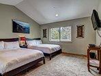 The Great Escape - Bedroom 2 Queen beds